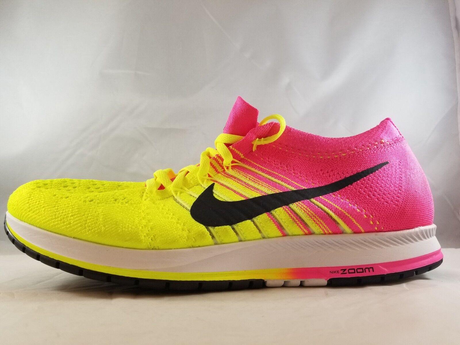 Nike Flyknit Streak Unisex Running Shoe 835994 999 Mens Size 12.5 Womens Size 14