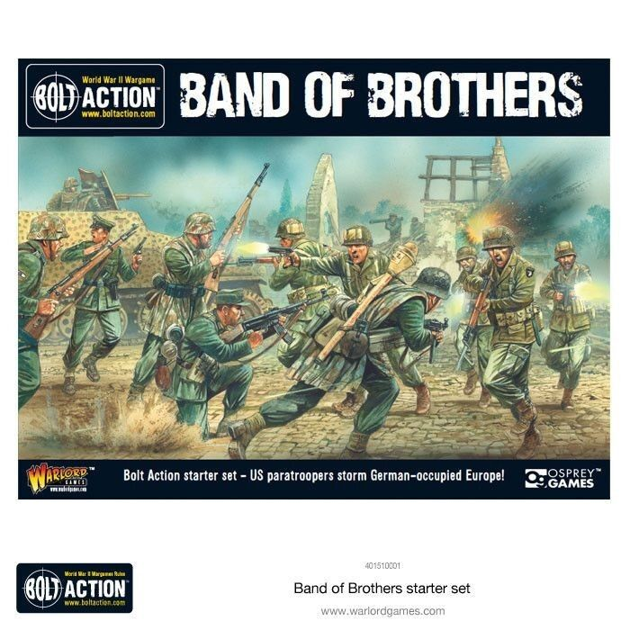 Bullone Azione 2 Set Iniziale Band Of Brothers 28mm Tedesco Warlord Games WW2