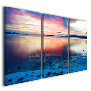 Quadri moderni paesaggi naturali after soon stampe su tela for Stampe paesaggi naturali