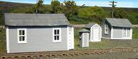 Branchline Trains Laser Art 671 Ho Scale Trackside Shed Pack Structure Kit on sale