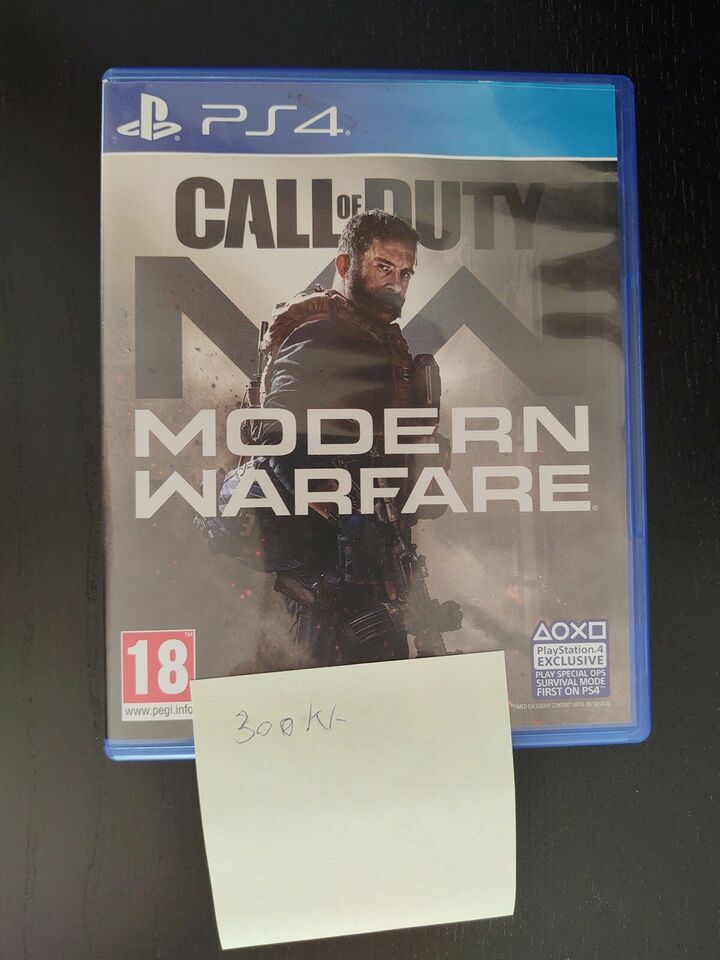 Call of duty, PS4