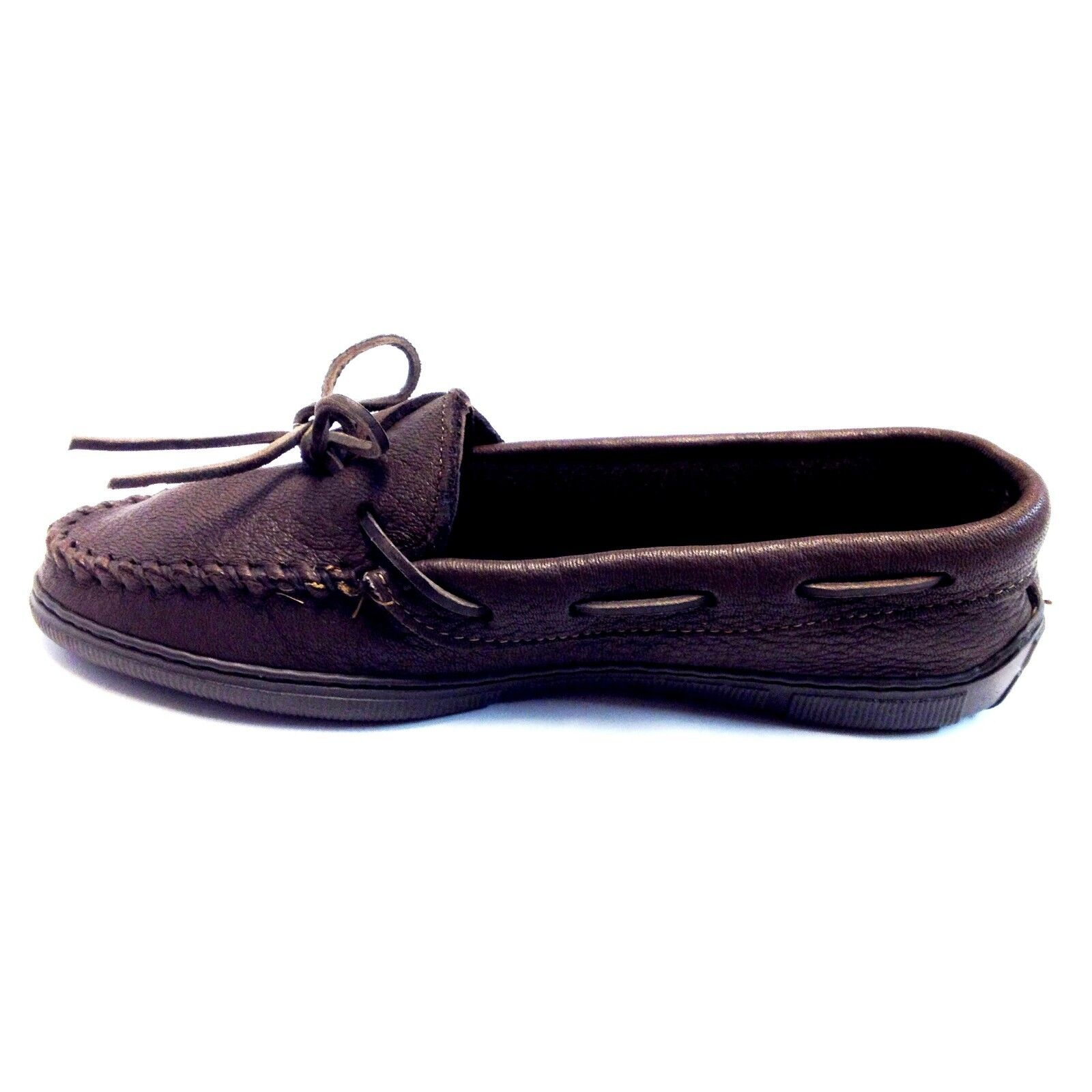Minnetonka, Women's Moccasin, Chocolate Moose Moose Moose 492 a964c6