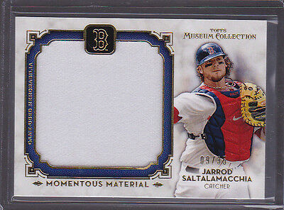 Kind-Hearted 2014 Museum Collection Momentous Material Jumbo Relics Gold Saltalamcchia 03/35 Sale Price Sports Trading Cards
