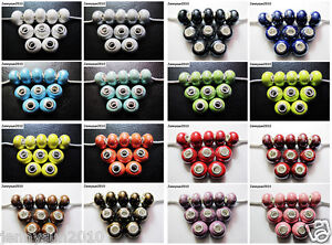 20pcs-Big-Hole-Porcelain-Ceramic-Rondelle-Spacer-Beads-Fit-European-Charm