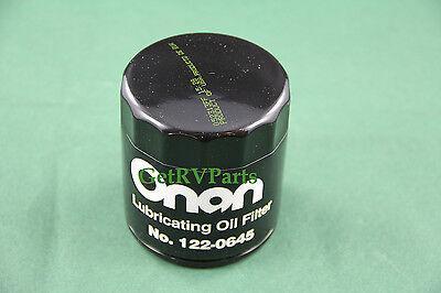 Genuine - Onan Cummins RV Generator | 122-0645 | Oil Filter fits NHEL BGM BGAL