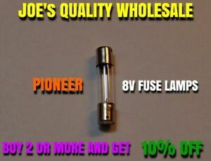 1-8V-250mA-FUSE-LAMP-29MM-SX-939-828-727-626-535-636-RECEIVER-Pioneer-DIAL-BULB