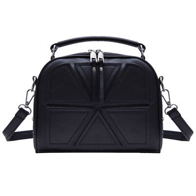 Women PU Leather Shoulder Messenger Crossbody Bag Satchel Handbag Tote Purse
