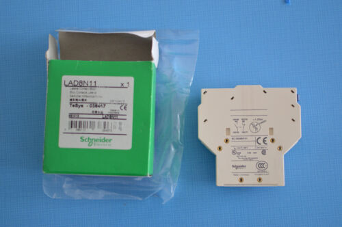 Bloc contact latéral Schneider Electric TeSys 038467 LAD 8N11 10A 690V