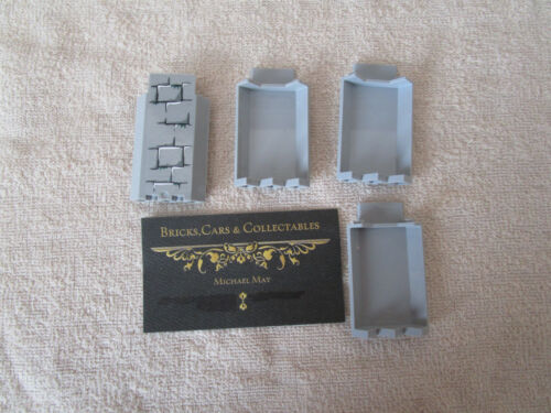 Lego HARRY POTTER CORNER PANEL//WALL WITH MOSS /& PICTURE STICKER SET 4738 4