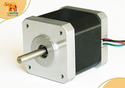 Reprap 3D Printer Nema17,0.9°,Wantai Stepper Motor 4200g.cm(56oz-in) 42BYGHM809