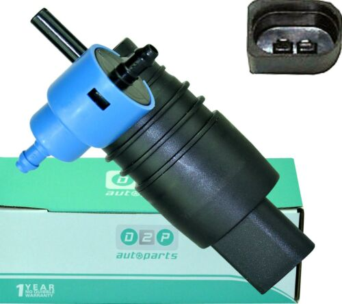 BMW 3 SERIES E36 FOR AUDI A6 C5 C6 Z3 E36 WINDSCREEN WASHER PUMP TWIN OUTLET