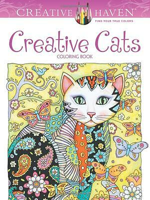 Creative Haven Cats Coloring Book By Dover Publications DOV 89640 Mult