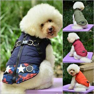 Waterproof-Pet-Dog-Clothes-Winter-Warm-Padded-Coat-Puppy-Vest-Jacket-S-M-L-XL