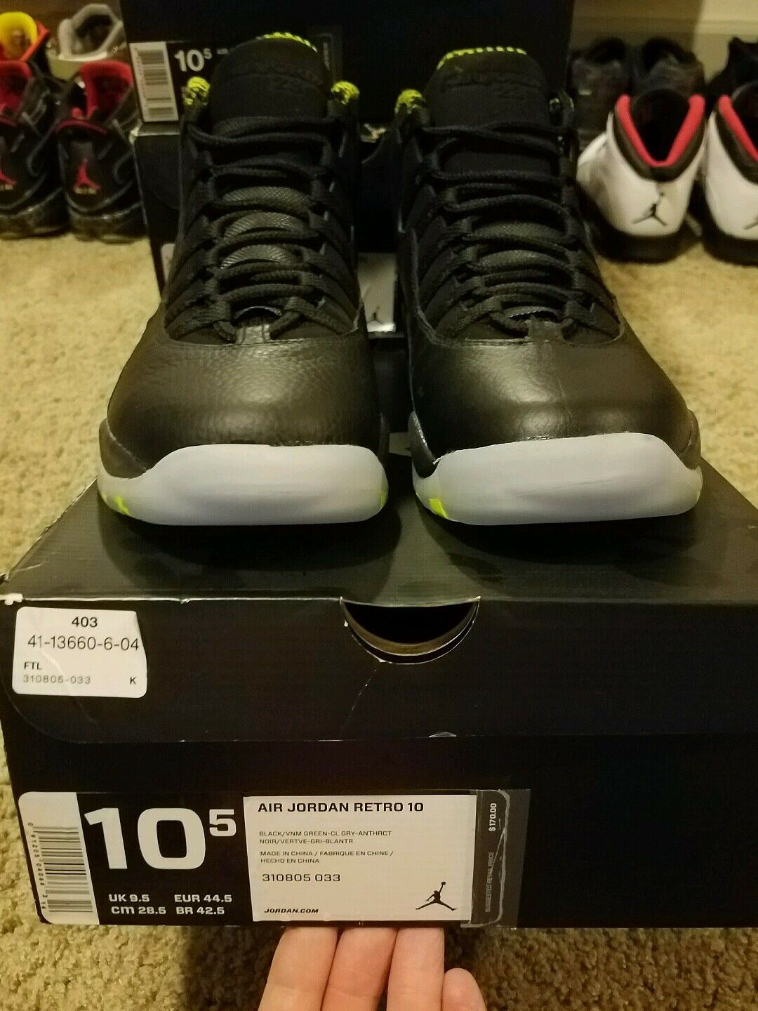 Air jordan retro 10 VNM
