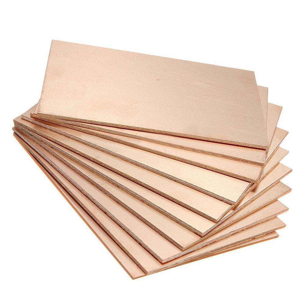 1pc 5pcs One Side Copper Clad Single Pcb Circuit Laminate Board New 7x9 Universal Stripboard Veroboard Diy Ebay 6 Of 7 70x100x1