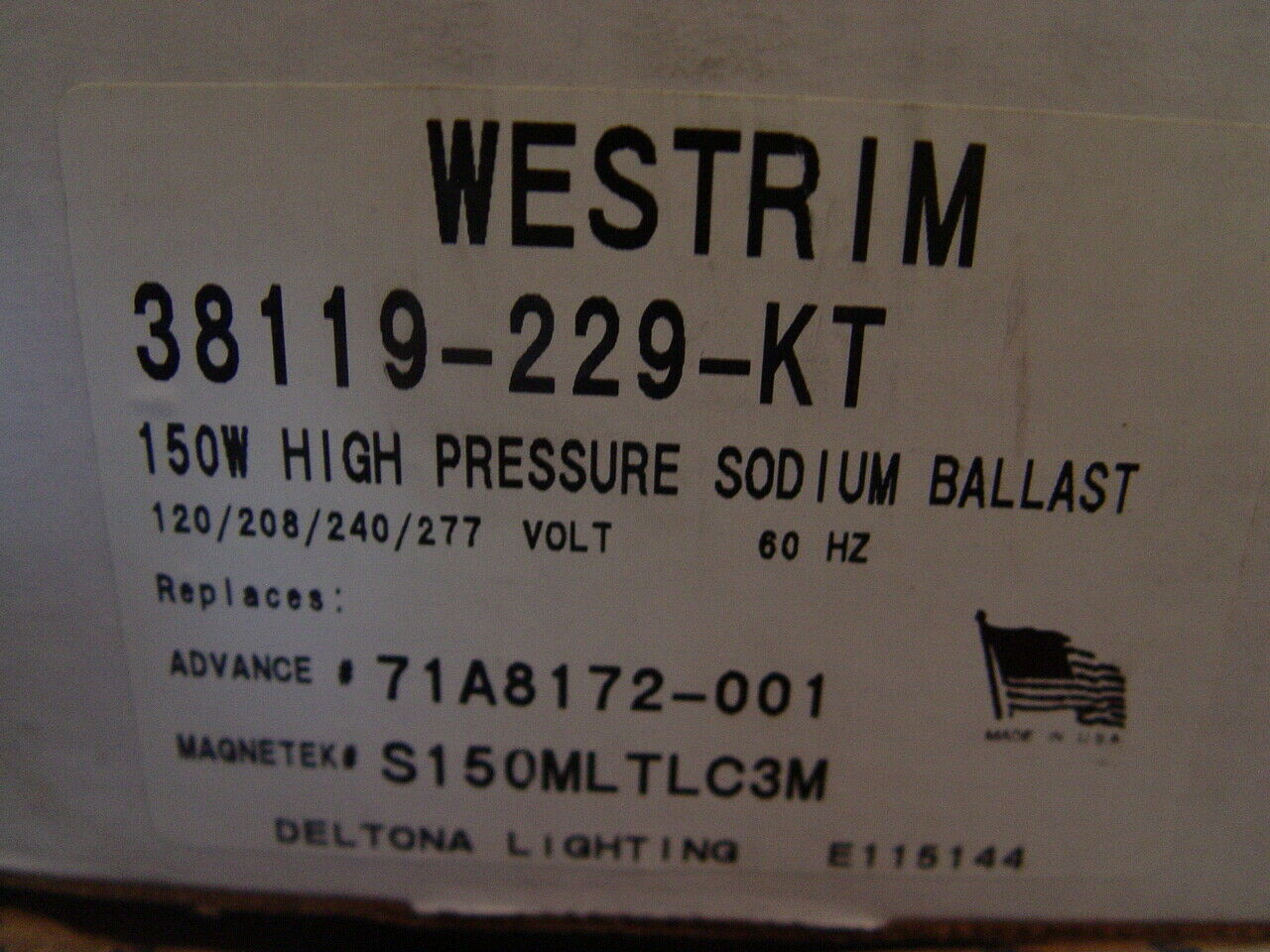 Universal HPS400-3A Ignitor Starter Aid for High Pressure Sodium Lamps Lot of 5