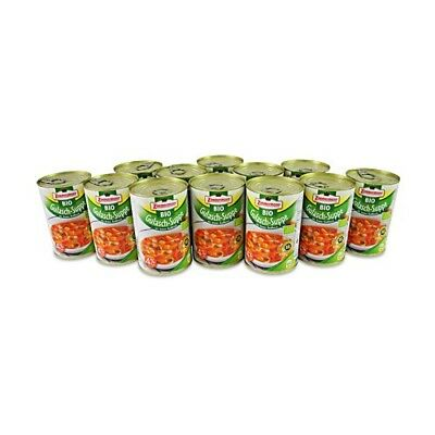 (7,87€/1l) BIO Gulasch - Suppe  12er Pack (12 Dosen à 400 ml)