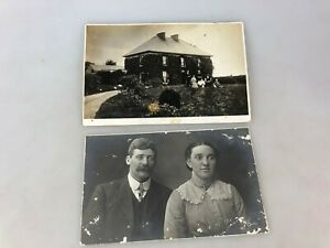 VINTAGE-POSTCARDS-PHOTOGRAPHS-NOT-SURE-WHERE-TAKEN-2-DIFFERENT
