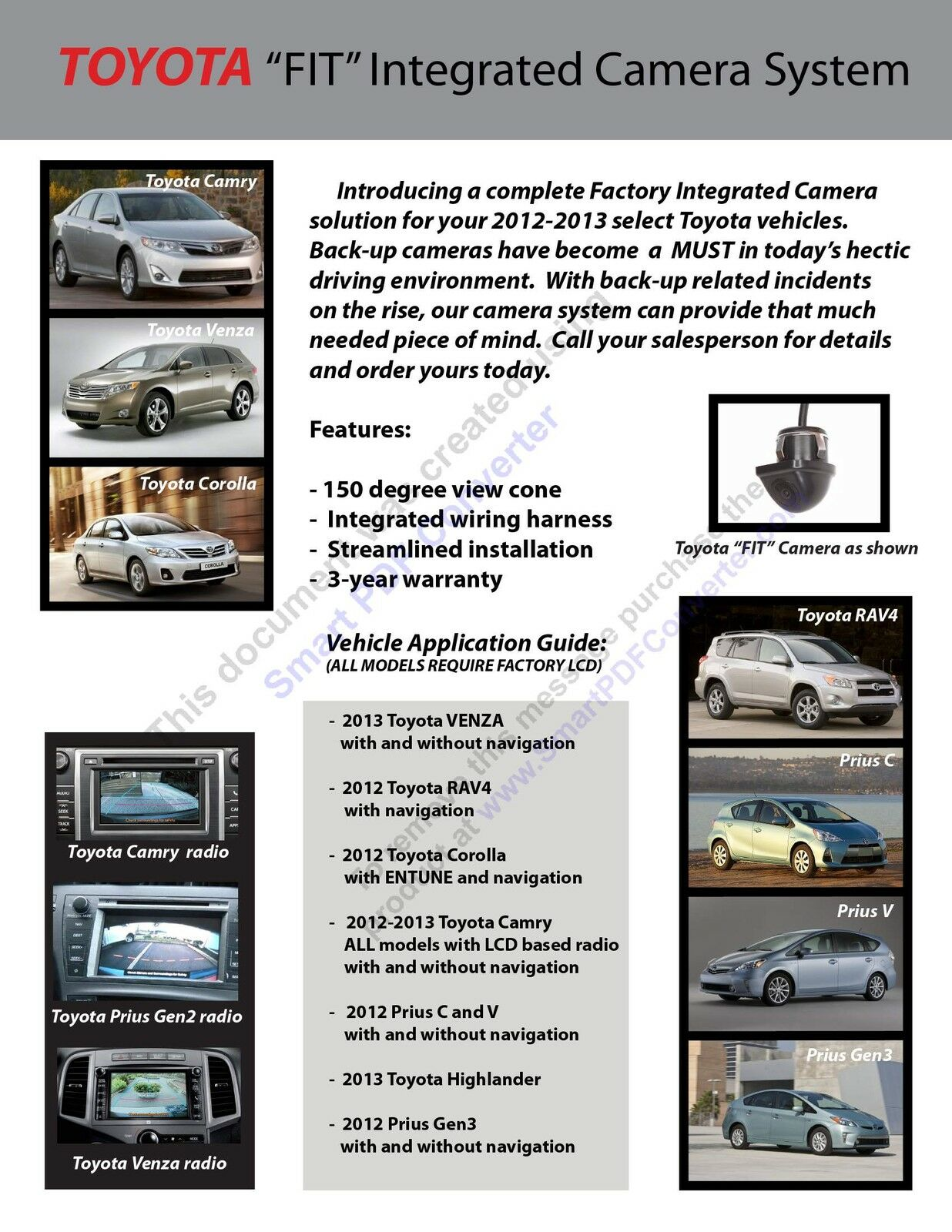 Subaru Brz 2013 2014 Aftermarket Back Up Camera System 3 Year Toyota Venza Radio Wiring Harness Norton Secured Powered By Verisign