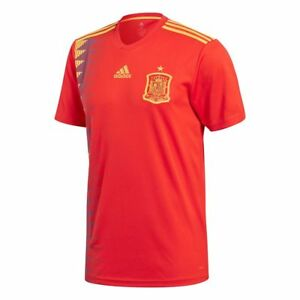 988ceb824c4 Details about adidas Spain FIFA WC World Cup 2018 Home Soccer Jersey Red Kids  Youth