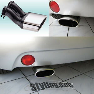 vw new beetle 2001 2011 exhaust end pipe oval end pipe. Black Bedroom Furniture Sets. Home Design Ideas
