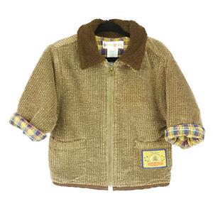 Gymboree-6-12-Month-Brown-Corduroy-Coat
