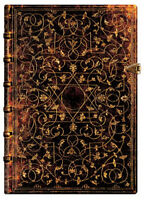 """Paperblanks Journal """"grolier"""" Lined Midi 5x7 Book Writing Lined"""