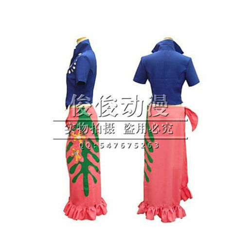 Free Shipping one piece Nico Robin two years later cosplay costume