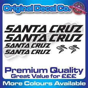 Qualité Premium Santa Cruz Vélo Stickers Autocollants de remplacement Cadre de VTT MTB  </span>