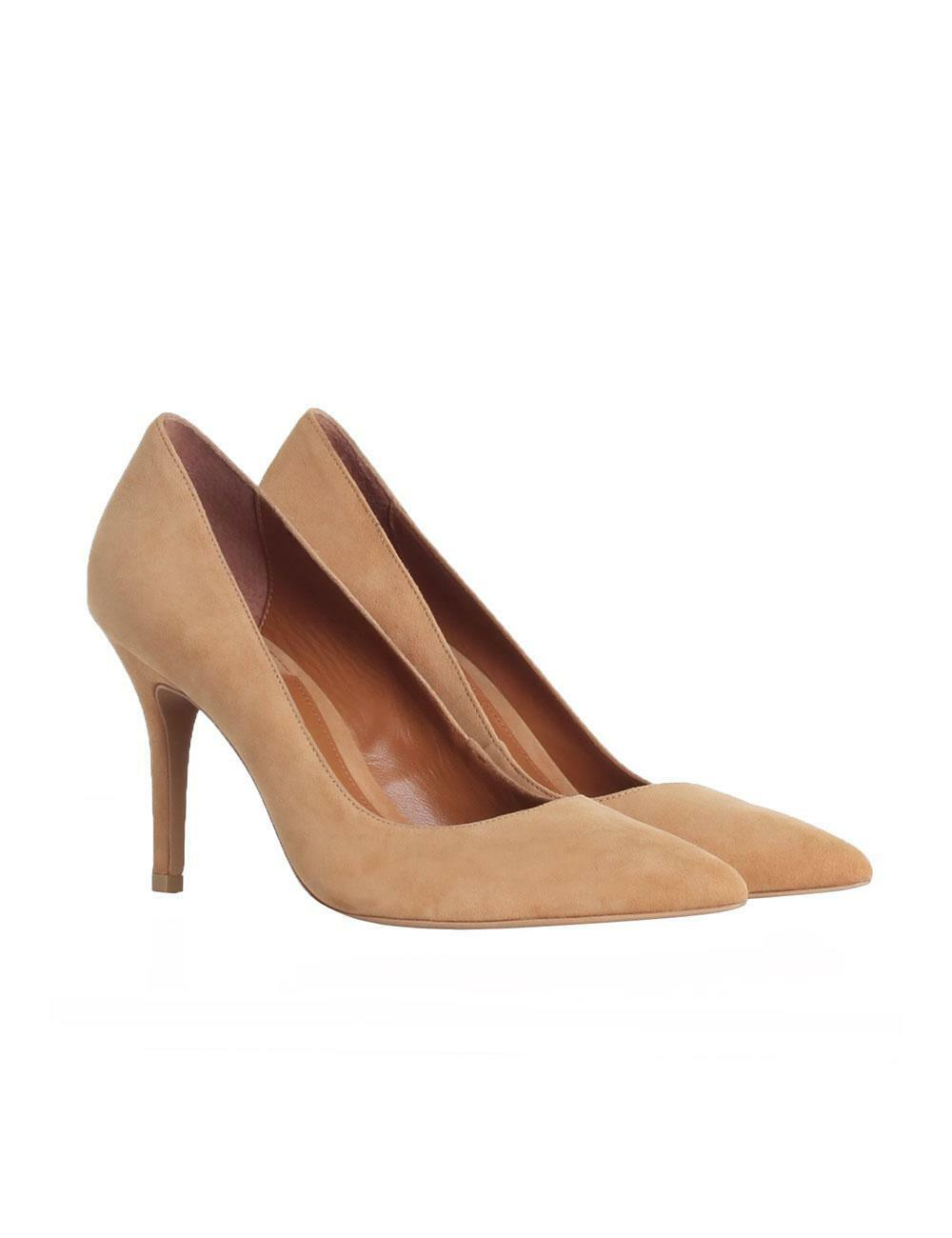Zimmermann Pointed Pump Heels, Shoes | High Heels, Pump Grey Suede | All Sizes | 550 RRP 1a1161