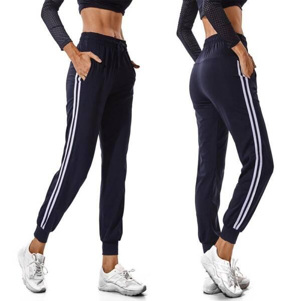 Damen Tasche Hose RELAXHOSE Jogginghose Haremshose Bandage Yogahose Sporthose DE