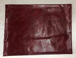 Vinyl-Burgundy-15x15-Loveseat-Chaise-RV-Cover-Headrest-arm-rest-sofa