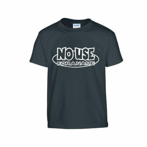 Nome rock NO utilizzare per la gioventù nufan T-Shirt Canottiera PUNK regalo Bambini Gilet T-shirt