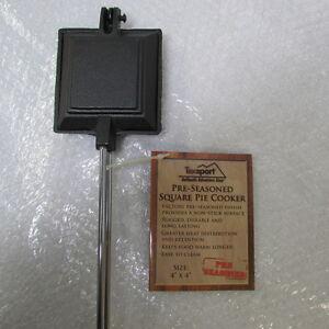 Texsport-14704-Pre-Seasoned-Cast-Iron-Square-Pie-Cooker-4-x-4-C7-AMZ