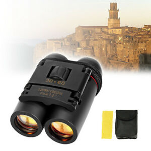 Binoculars-Portable-Mini-30-x-60-Zoom-Outdoor-Travel-Folding-Telescope-Black