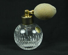 Royal Gallery 24% Lead Crystal Perfume Bottle With Atomizer Sprayer
