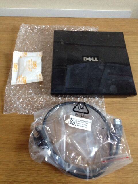 Dell 0KM001 External Media Bay for E-Series Laptops & Connecting Cable PD02S