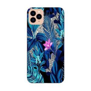Coque Iphone 12 PRO MAX tropical fleur rose exotique