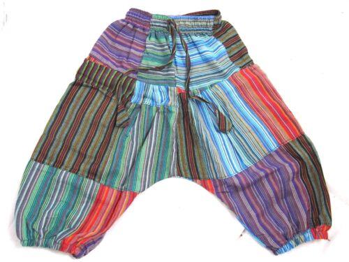 Ragazzi Hippie Festival Abiti BABY Fairtrade Children/'s Kids Harem Pantaloni Ragazze