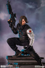 Marvel 1/4 Scale Winter Soldier Captain America Statue Iron Studios