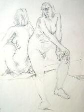 Lubomyr Mudretzkyj 1927-2001 Wien Zeichnung-6 weibliche Akte 1987 Karl Hoffmann