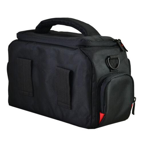 Large DSLR Camera Bag Case For Canon EOS 77D 2000D 4000D 250D 6D 5D 800D BLACK