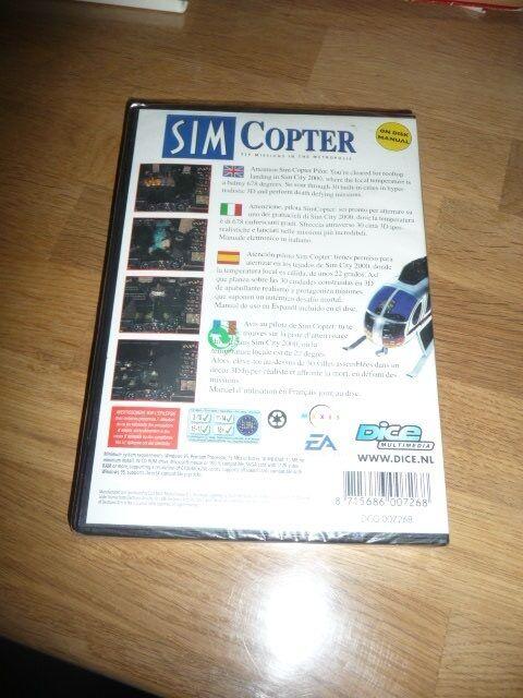 Sim Copter, til pc, simulation
