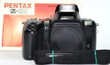 Pentax z20 z-20 35mm funda neopreni cámara reflex sólo carcasa + instrucciones, defectuoso
