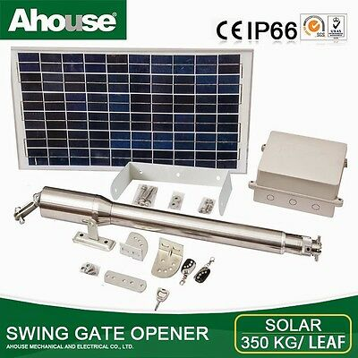 """Ahouse"" AUTOMATIC GATE OPENER.. Heavy duty KIT . Up to 5 Meter cyclone gate"