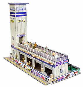 1-64-Scale-Slot-Car-HO-Photo-Real-Press-Media-Tower-fits-Aurora-AFX-BK-6424