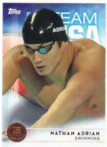 2016-Topps-US-Olympic-Team-USA-Bronze-67-Nathan-Adrian-Swimming