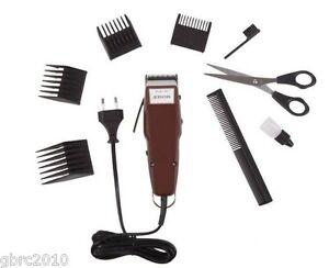 moser 1400 plus professional hair clipper trimmer 4 combs scissors ebay. Black Bedroom Furniture Sets. Home Design Ideas