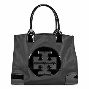 ef9184d9cd8 Tory Burch Ella Nylon Large Tote Black - TB50009811-009 885427179320 ...