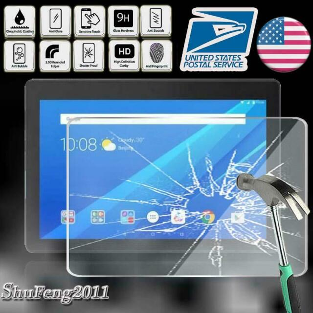 """Ultra-Thin HD Clear Tempered Glass Screen Protector f AT/&T Lenovo Moto Tab 10.1/"""""""